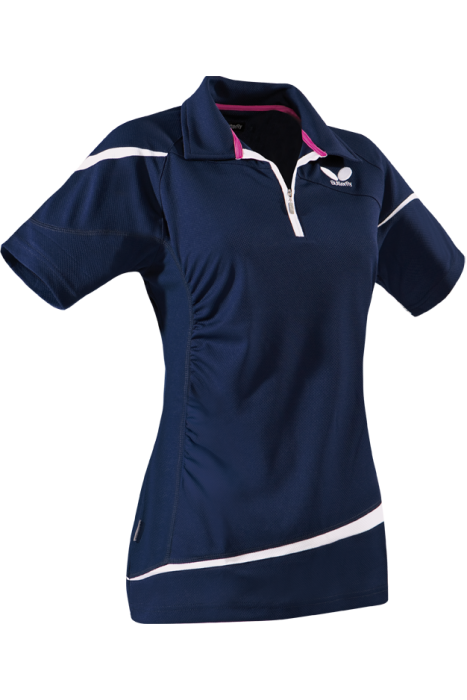 Butterfly liora ladies table tennis shirt clothing for Table tennis shirts butterfly