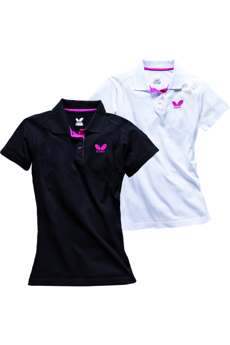 Butterfly pure ladies table tennis shirt clothing for Table tennis shirts butterfly