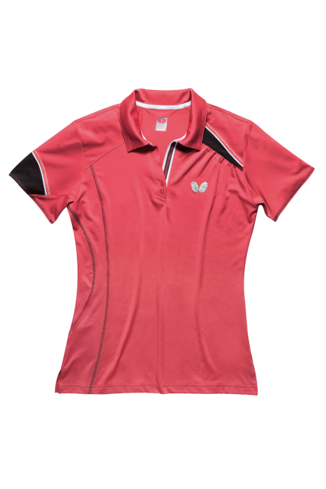 Butterfly mira ladies table tennis shirt clothing for Table tennis shirts butterfly