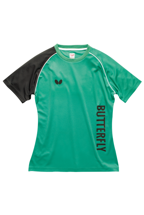 Butterfly aino ladies table tennis training shirt for Table tennis shirts butterfly