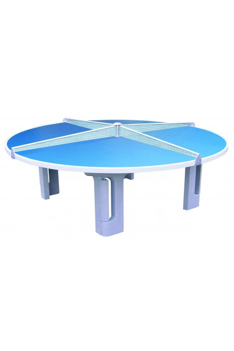 Butterfly Round Polymer Concrete Table Tennis Table