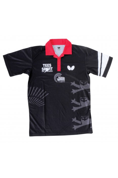 Butterfly england 39 16 men 39 s table tennis shirt clothing for Table tennis shirts butterfly