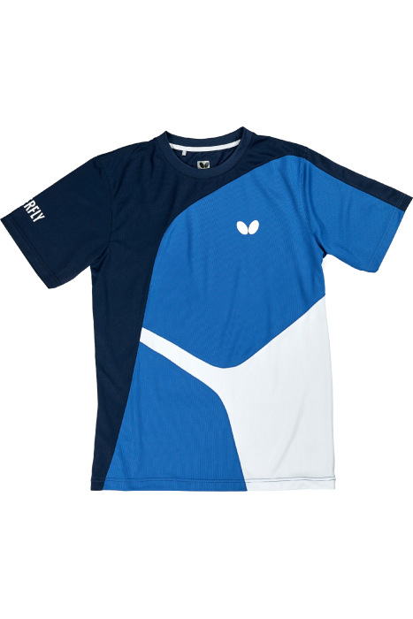 Butterfly ryo table tennis t shirt clothing towels for Table tennis shirts butterfly