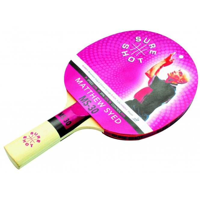 ac9d581e963 Sureshot Matthew Syed MS-30 Table Tennis Bat - Bats from Tees Sport UK