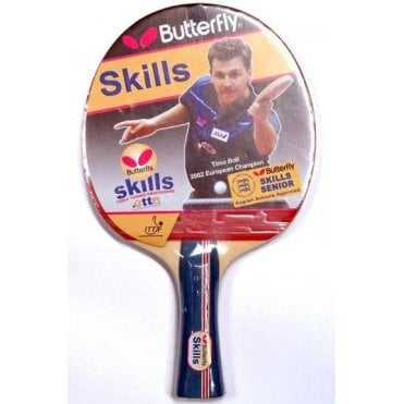 60c375b76c7 Butterfly Skills Senior Table Tennis Bat